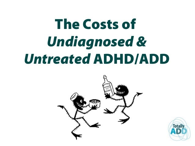 The Costs of Undiagnosed & Untreated ADHD/ADD