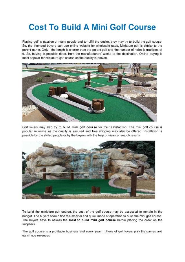 miniature golf course builders   mini golf course ideas   mini golf d…