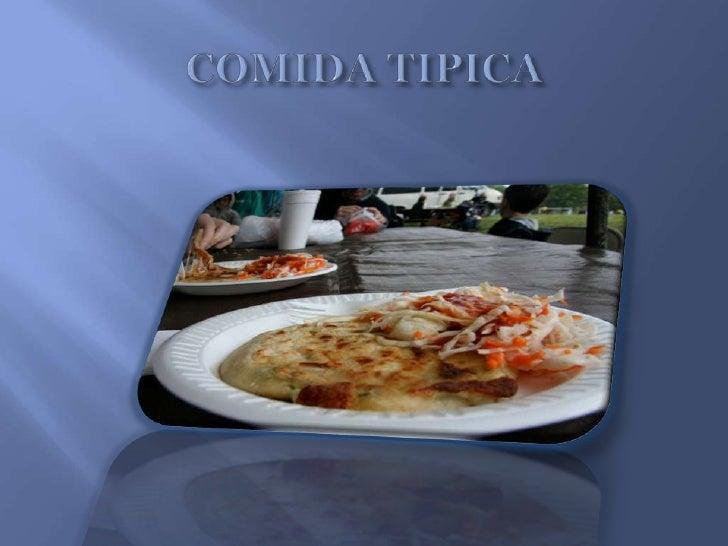COMIDA TIPICA<br />