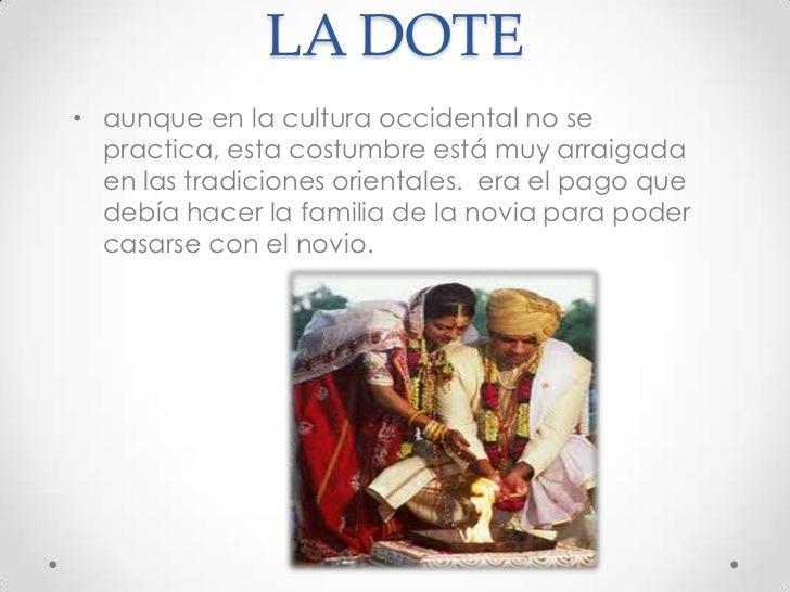 Matrimonio Definicion : Costumbres y tradiciones en el matrimonio