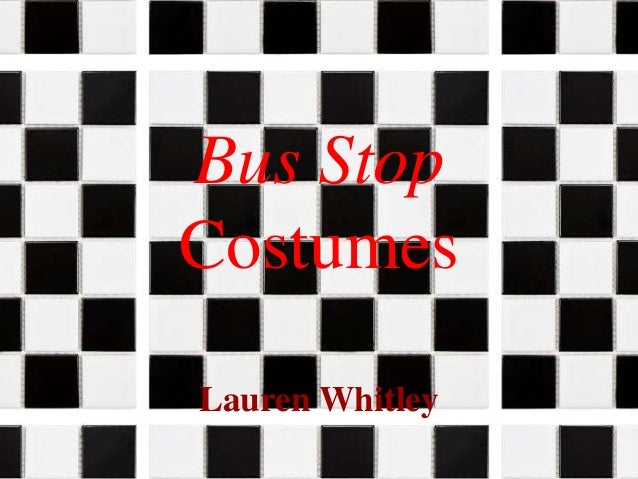 Bus Stop Costumes Lauren Whitley
