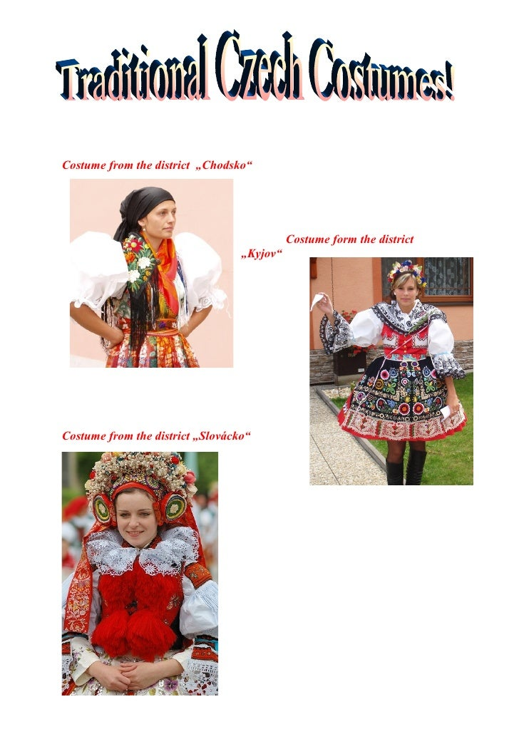 "Costume from the district ""Chodsko""                                                 Costume form the district             ..."