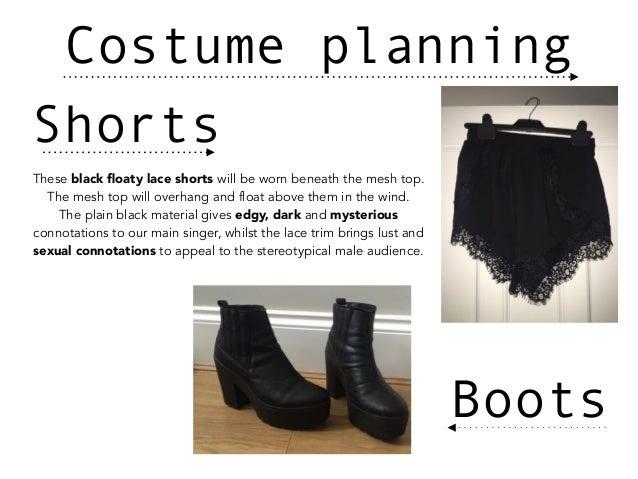 Costume planning Slide 2