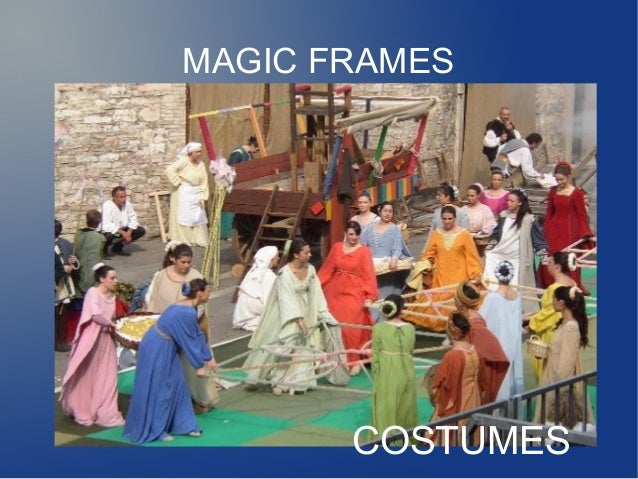 MAGIC FRAMES       COSTUMES