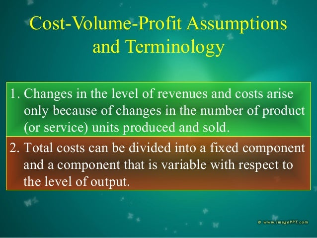 cost volume and profit Chapter cost-volume-profit analysis and marginal analysis suggested solutions  discussion questions fixed cost is one which is the same irrespective of the level.
