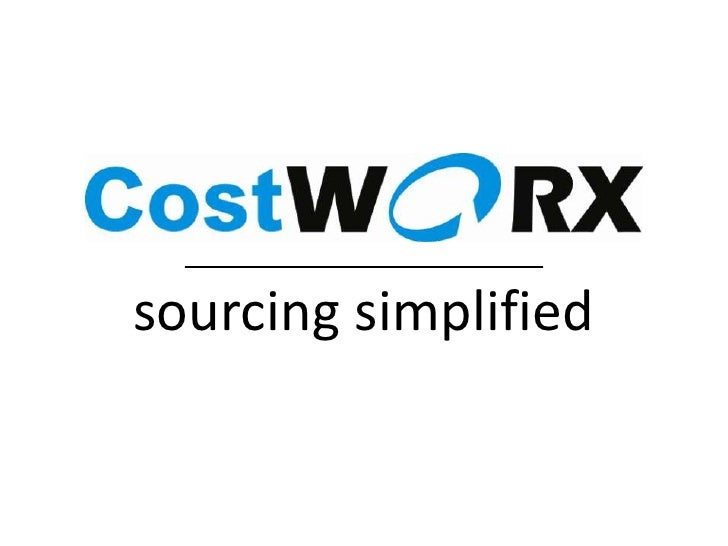 sourcing simplified<br />