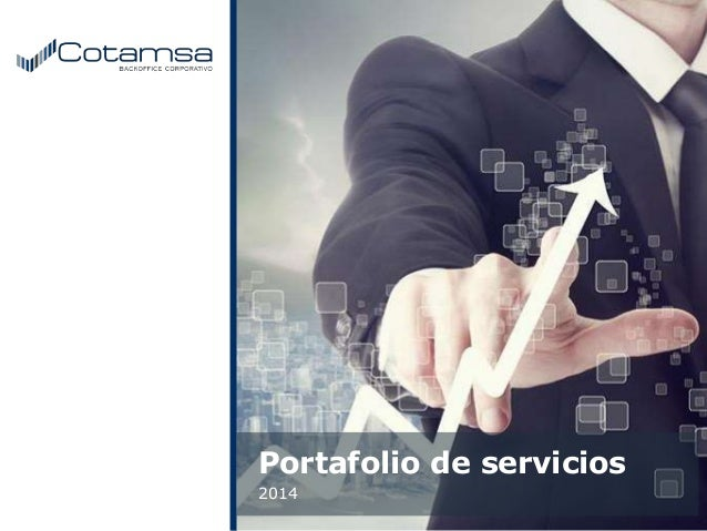Portafolio de servicios 2014