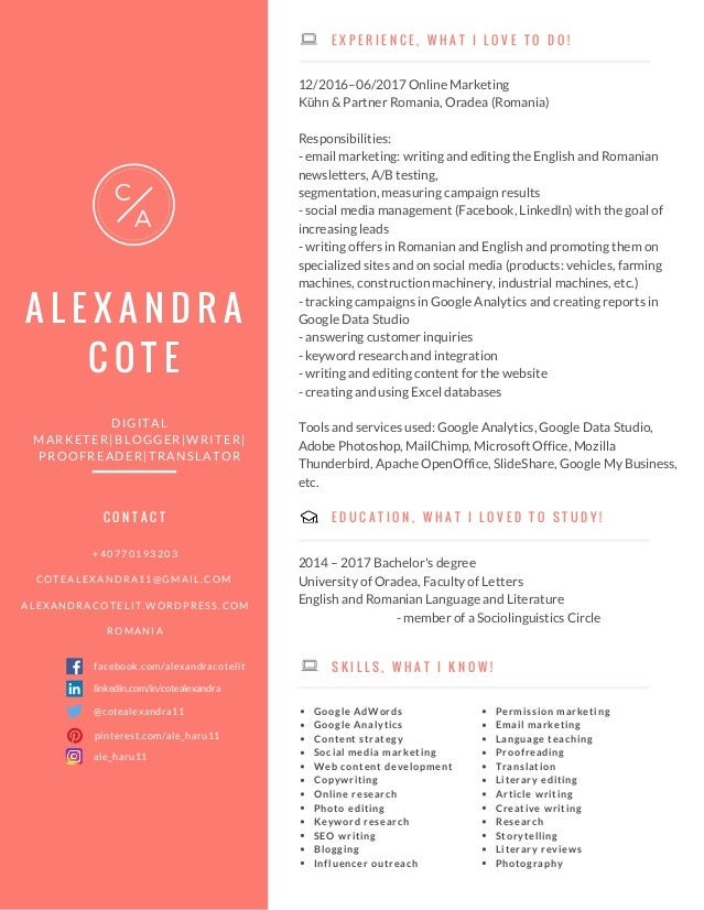 My Resume Digital Marketing