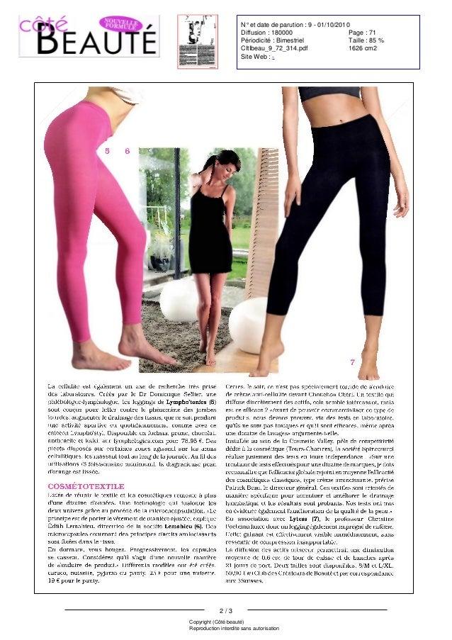 Article Presse Scala - Coté Beauté - 1 octobre 2010 Slide 2