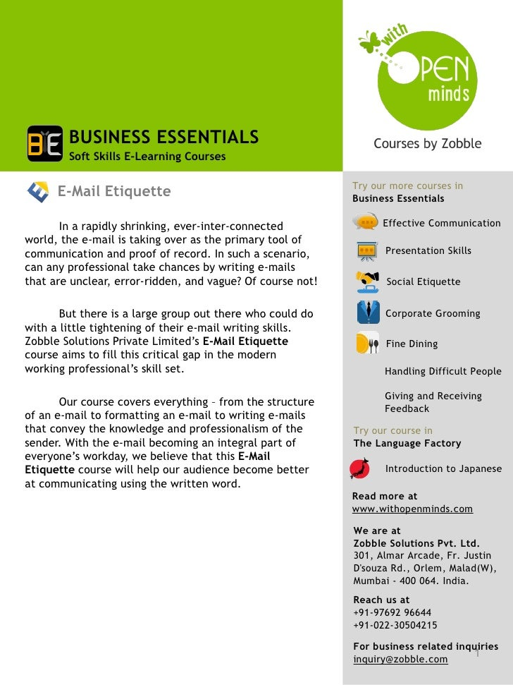 BUSINESS ESSENTIALS        Soft Skills E-Learning Courses                                                            Try o...