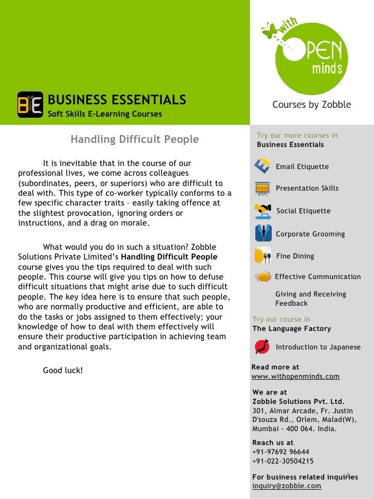 BUSINESS ESSENTIALS        Soft Skills E-Learning Courses                                                               Tr...
