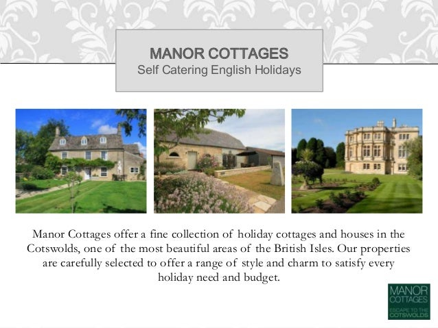 Cotswold Cottages - Self Catering English Holidays Slide 2