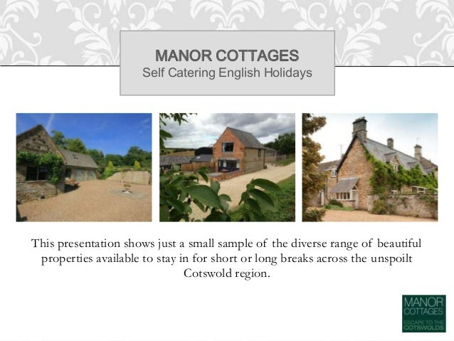 Cotswold Cottages - Self Catering English Holidays Slide 3