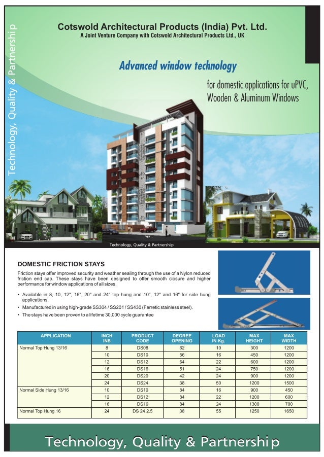 Cotswold Architectural Products (India) Pvt Ltd, Mumbai, Heavy Duty Commercial