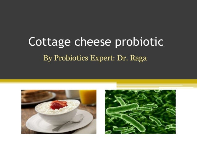 Cottage cheese probiotic By Probiotics Expert: Dr. Raga