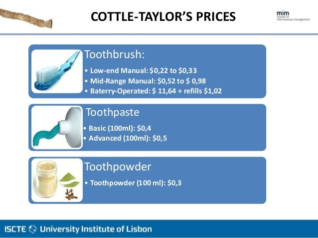 cottle taylor expanding oral care group in india Bella healthcare india by dorothy leonard, sunru yong united cereal: lora brill's eurobrand challenge by christopher a bartlett, carole carlson cottle-taylor: expanding the oral care group in india by john a quelch, alisa zalosh.