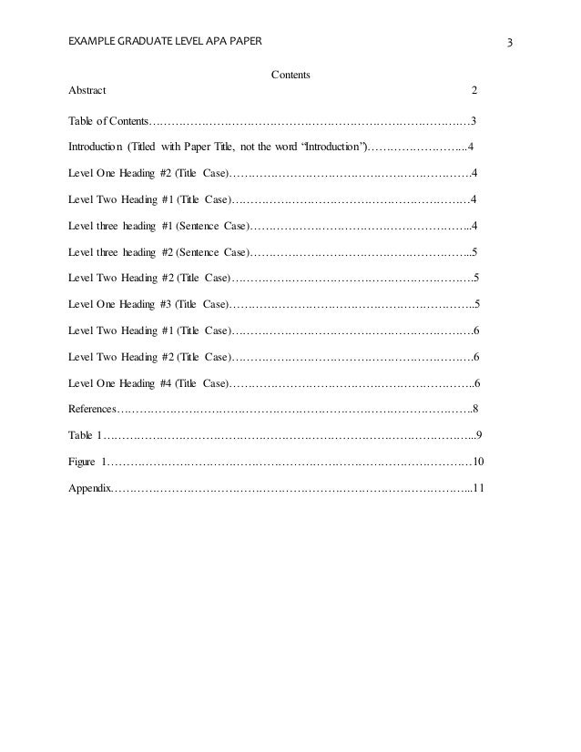 Research paper table of contents apa kleo. Wagenaardentistry. Com.