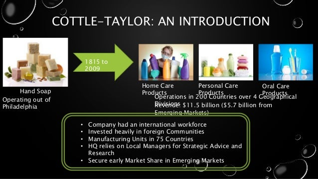 cottle taylor india This case is about cottle-taylor: expanding the oral care group in india get your cottle-taylor: expanding the oral care.