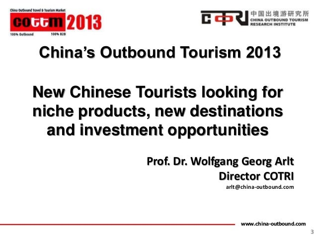 COTTM China Outbound Travel and Tourism Market