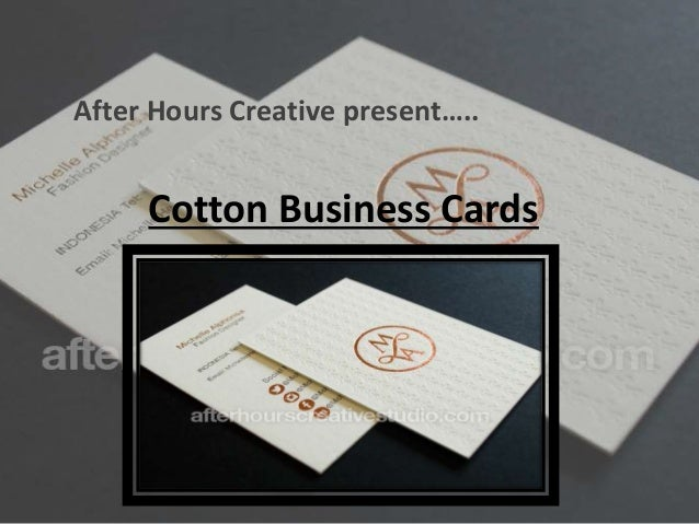 high quality cotton business cards cotton business cards after hours creative present - High Quality Business Cards