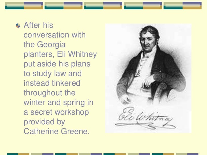 eli whitney and interchangable parts Besides interchangeable parts, what other technological innovation was pioneered and popularized by eli whitney use this worksheet to identify.