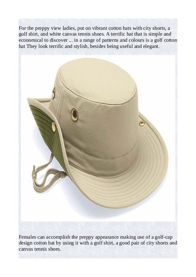 Cotton hat styles   the numerous selections to select from! Slide 2