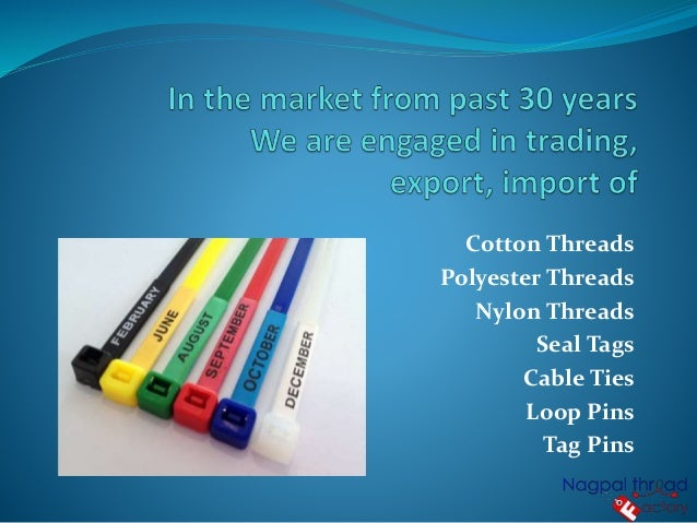 Cotton threads manufacturers & suppliers in india