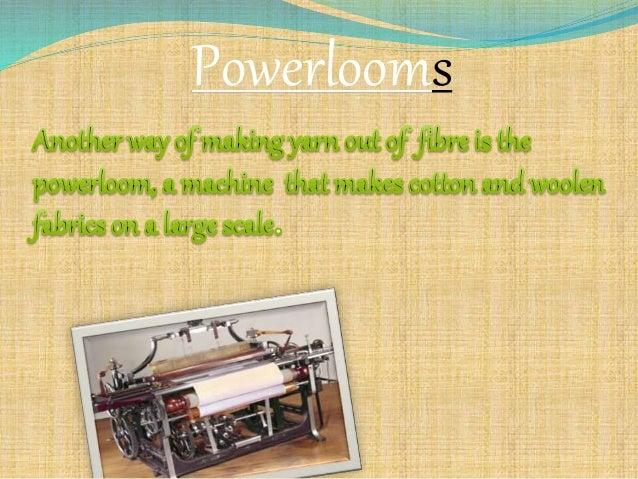 Powerlooms