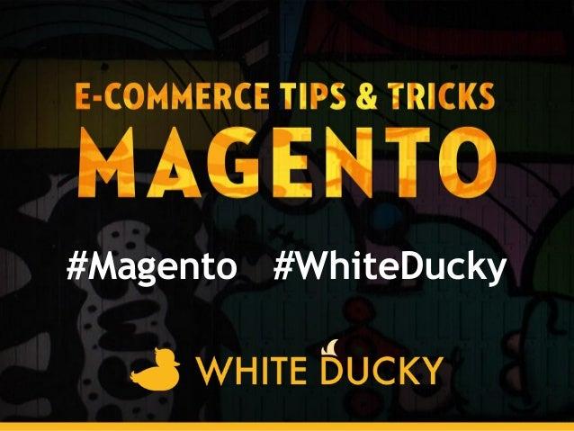 #MagentoWD@akai_pp@WhiteDuckypierwsza strona - projekt Kuchar#Magento #WhiteDucky