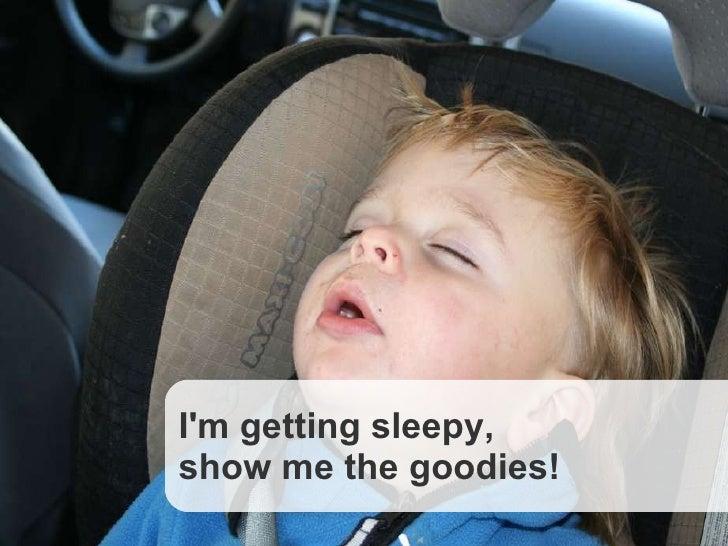 CouchDB, Slide  © Copyright 2008, Callista Enterprise AB I'm getting sleepy,  show me the goodies!