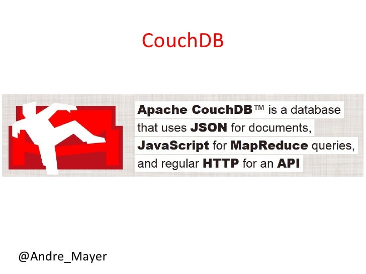 CouchDB@Andre_Mayer