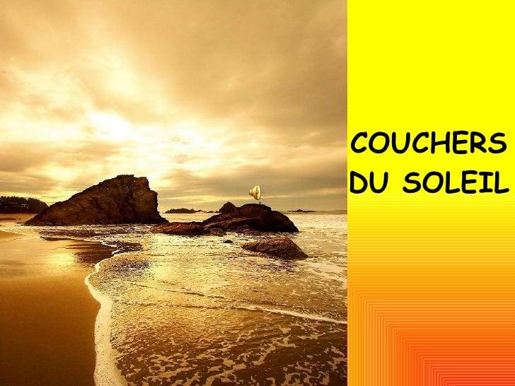 COUCHERS DU SOLEIL