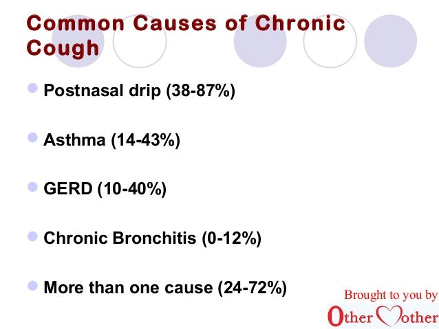 cough Most of adults cause chronic common in