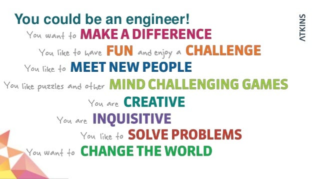 Could you be an engineer for I need an engineer