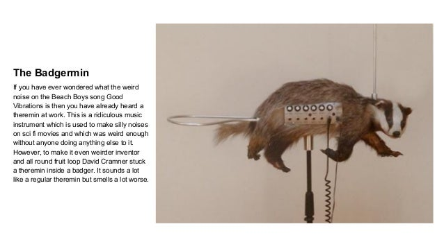 Could you get a tune from the world's most bizarre musical instruments  Slide 3