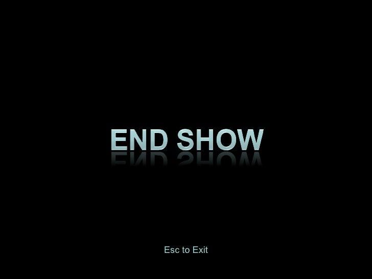Esc to Exit