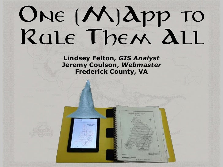 Lindsey Felton, GIS AnalystJeremy Coulson, Webmaster    Frederick County, VA