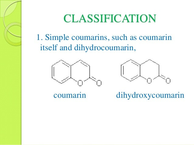 Coumarin synthesis pdf