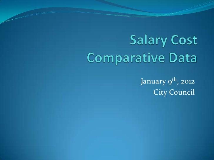 January 9th, 2012    City Council