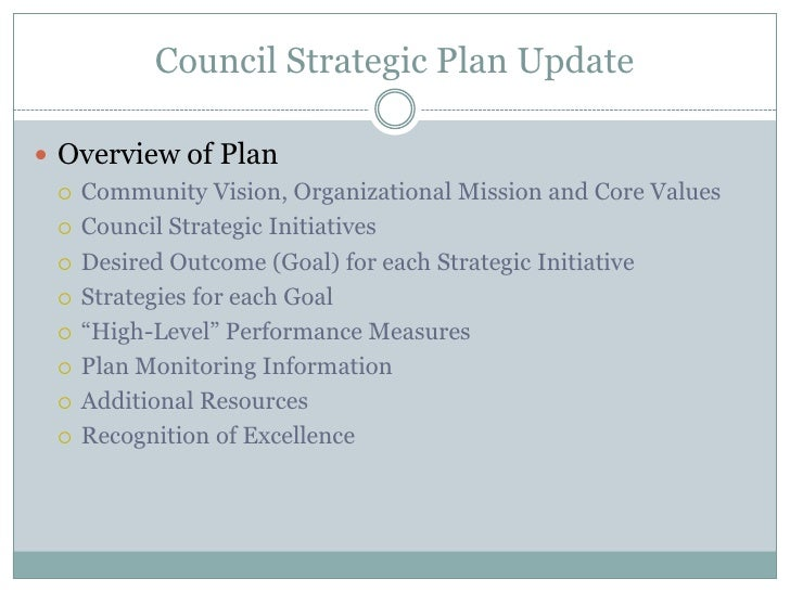 strategic plan for student council in Our strategic plan  • international programs faculty advisory council • associate provosts  • increased student participation in service learning,.