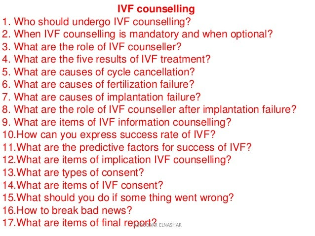 IVF Counseling  Slide 2