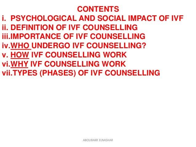 IVF Counseling  Slide 3