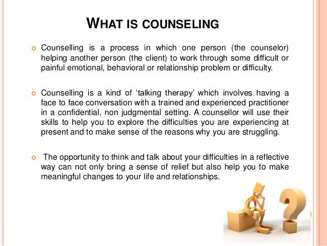 describe how current counselling and psychotherapy Behavioral therapy is an umbrella term for therapies that treat  the focus of  treatment is often on current problems and how to change them.