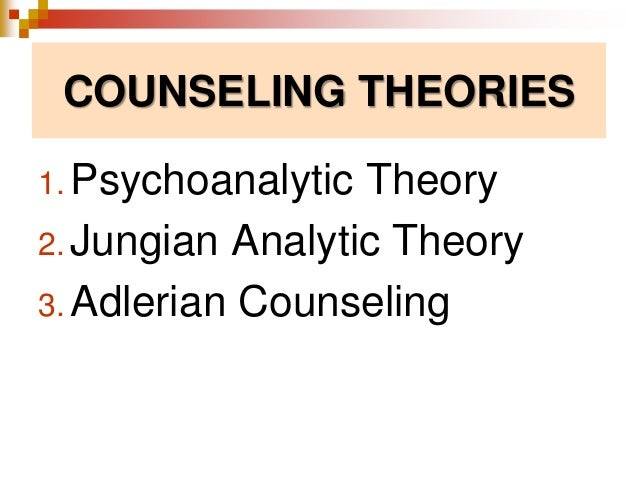 Counseling Theories Slide 2