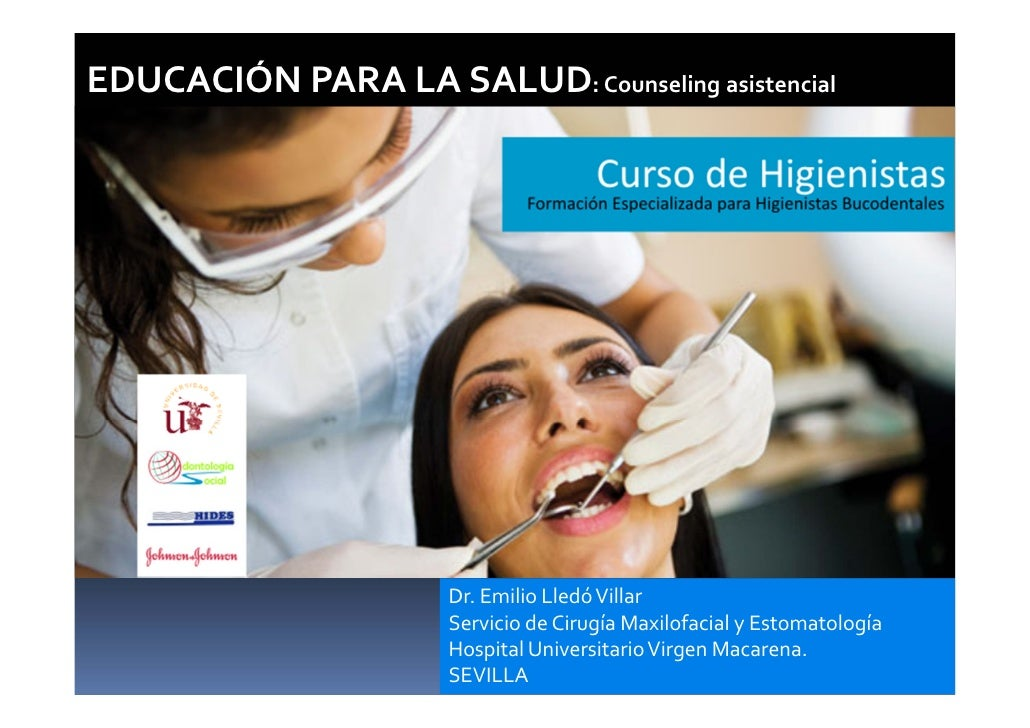 Counselling asistencial.Curso Higienistas