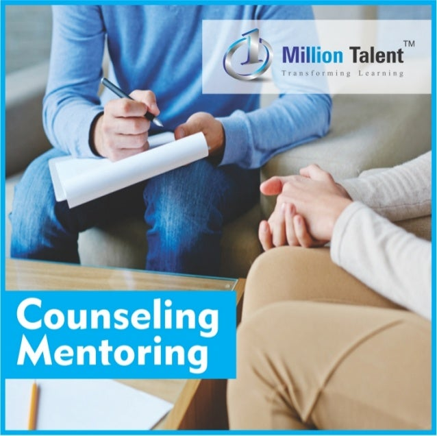 Counselling, mentoring & personal coaching at ONE MILLION TALENT