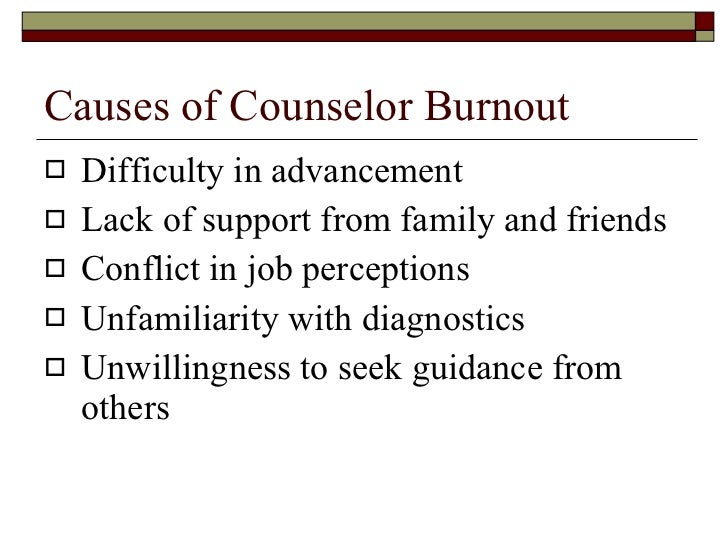 counselor burnout Roles that grit and mindset play in reducing burnout and increasing counselor self -  relationship between counselor self-efficacy and burnout and that mindset.