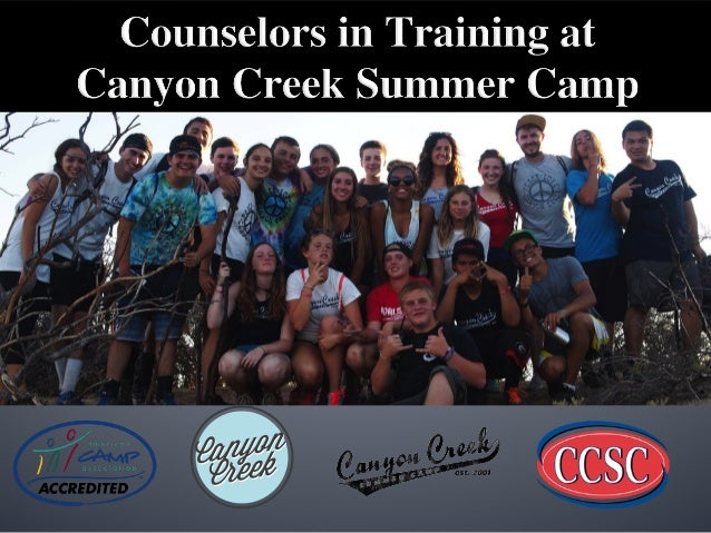 counselors in training with canyon creek summer camp