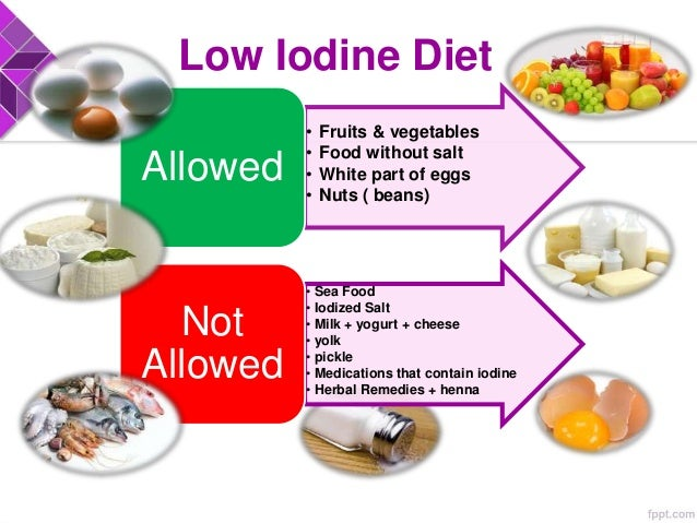 What Foods Can I Eat On A Low Iodine Diet