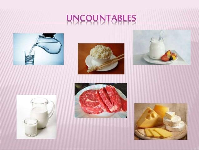 Countable Nouns List Food